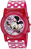 Disney Minnie Mouse Boutique LCD Pop Musical Watch (Model: MBT3714SR)