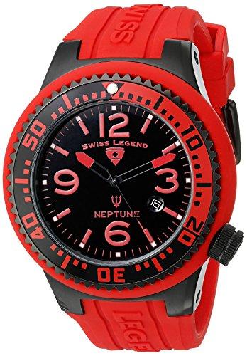 Swiss Legend Armbanduhr Rot 52 mm