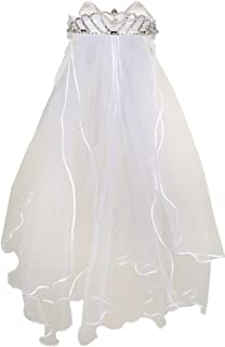 first holy communion veils and tiaras