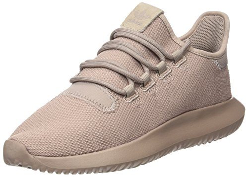 adidas Tubular Shadow J, Scarpe da Ginnastica Unisex-Adulto, Marrone (Vapour Grey F16/Vapour Grey F16/Raw Pink F15), 38 2/3 EU