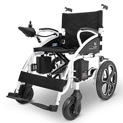 Aajolg Elektrische rolstoel, inklapbaar, licht, intelligente joystick, lithium-accu voor elektrische transporter, elektrische rolstoelen voor Anziani, rollator met zitting