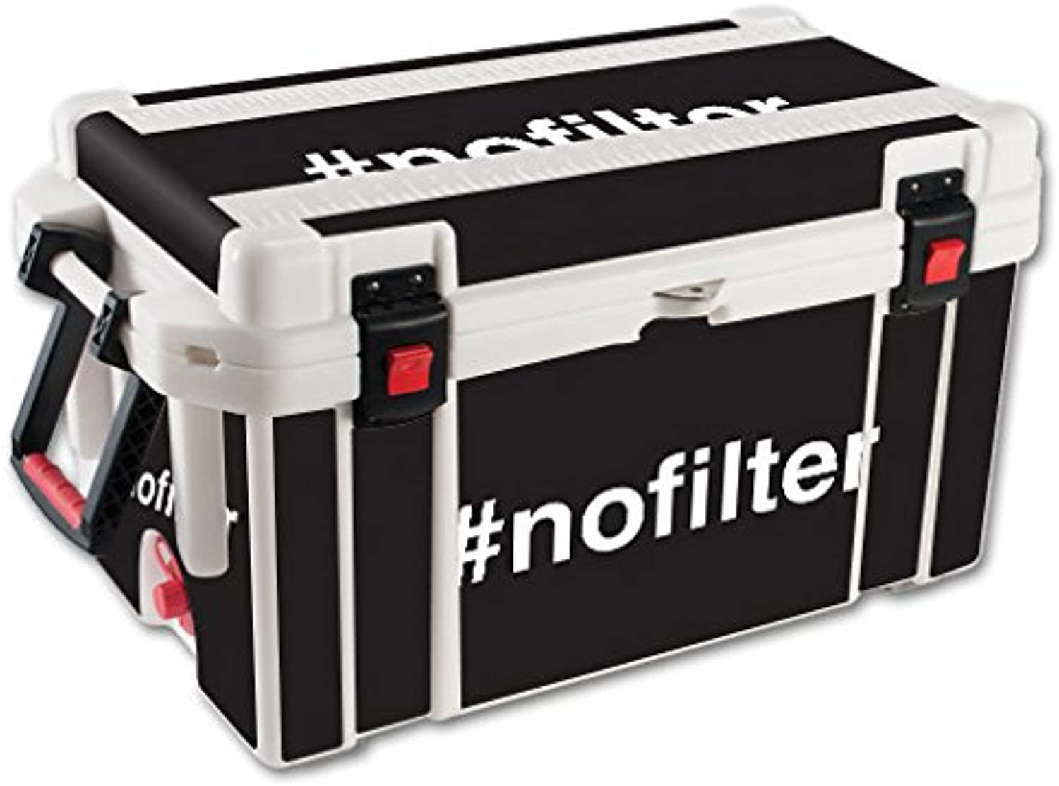 MightySkins Skin Compatible with Pelican 65 qt Cooler – No Filter   Predective, Durable, and Unique Vinyl Decal wrap Cover   Easy to Apply, Remove, and Change Styles   Made in The USA