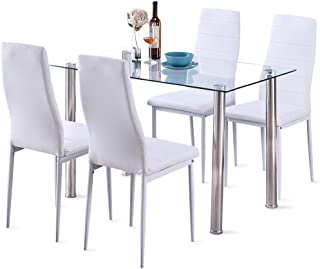 ohana white dining set