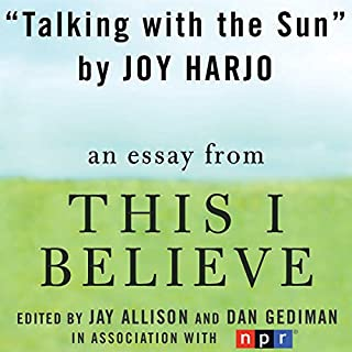 Talking with the Sun audiobook cover art