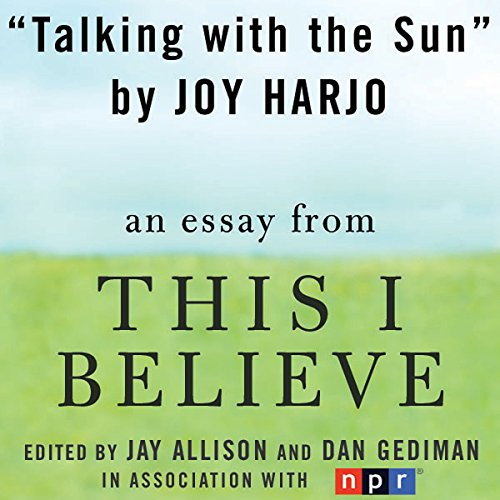 Talking with the Sun cover art