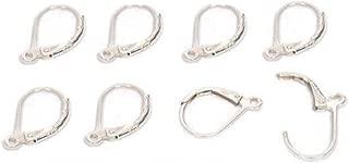 8 Lever Back Earrings Sterling Silver Earwire Parts