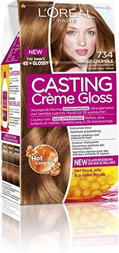 L'Oréal Paris Casting Crème Gloss 734 Honig Crumble Gold Kupfer Blonde - Haarfärbemitteln