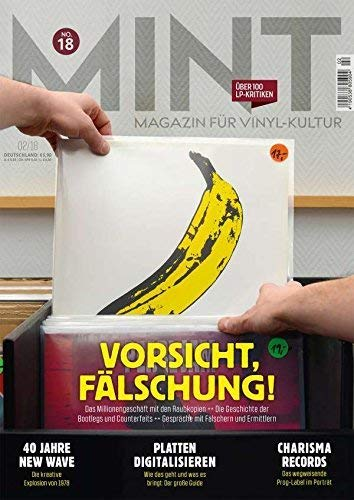 Mint Magazin für Vinyl-Kultur No. 18 (Zeitschrift)