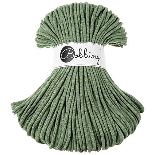 Cuerda de Algodón 5Mm Verde Marca Bobbiny