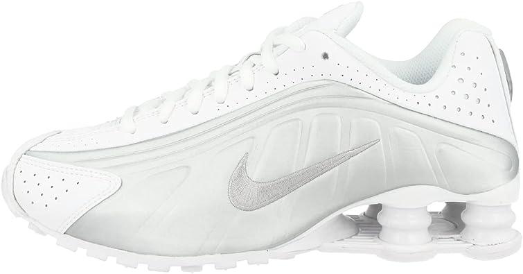 Nike Shox R4 (GS), Chaussures d'Athlétisme Homme