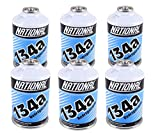 ZeroR R134a Refrigerant for MVAC use in a 12oz Self-Sealing Container (6 Pack)