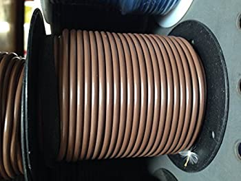 12-Gauge 100-Feet Bulk Spool Brown Primary Stranded Wire  Made in USA  by A Plus Parts House