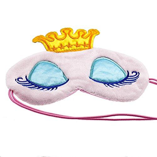 Prinzessinen Schlafmaske (pink), Vergiss die Welt um Dich herum und träum Dich in Dein eigenes Königreich - Qualität von GoBeLi
