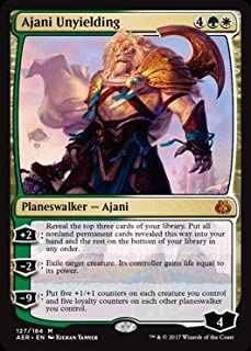 Magic: the Gathering - Ajani Unyielding (127/184) - Aether Revolt - Foil