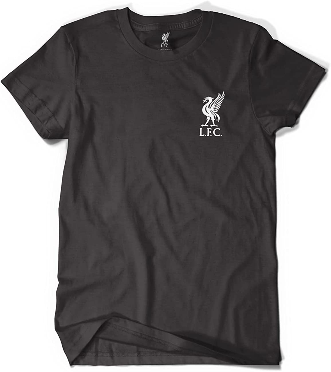 Liverpool FC Official Black Classic T-Shirt