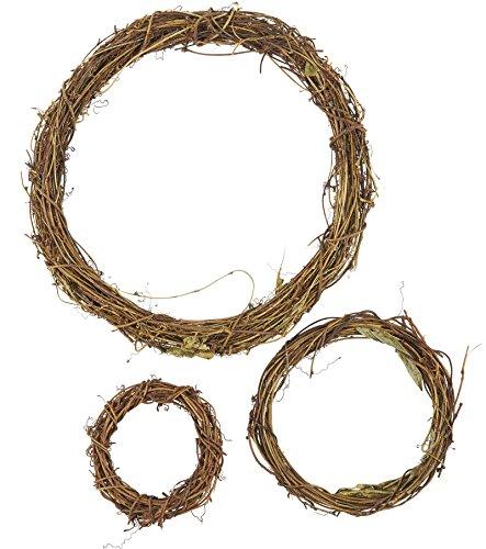 Grapevine Wreath Set