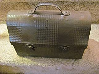 vintage antique Handy Andy worker/schoolkid TIN lunch pail, c. 1910-20