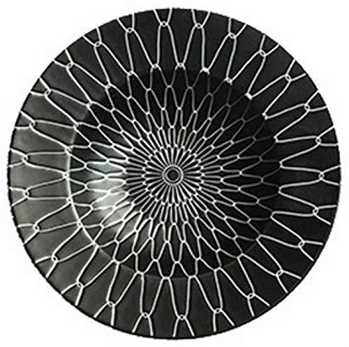 TREEECFCST Platos Vajilla Sombrero de Paja Placa cerámica de la Placa de Las pastas Placa Restaurante Cafe Occidental Placa Sopa Espesa Placa Pasta Ensaladera Placa
