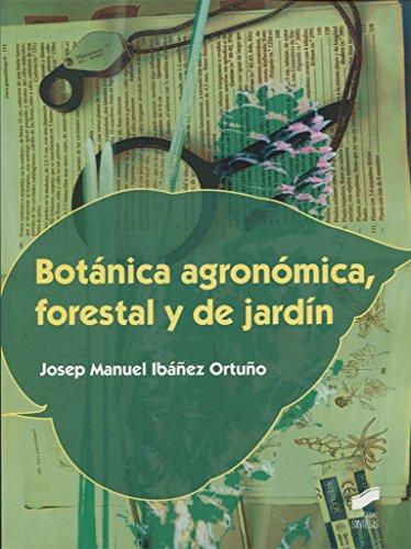 Botánica agronómica, forestal y de jardín: 8