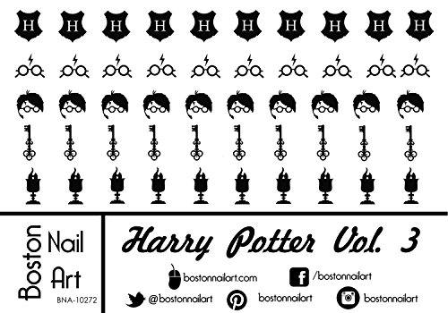 Harry Potter Vol. 3 - Waterslide Nail Decals - 50pc