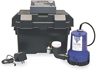 GLENTRONICS PHCC PRO SERIES 1850 BATTERY BACKUP SUMP PUMP SYSTEM