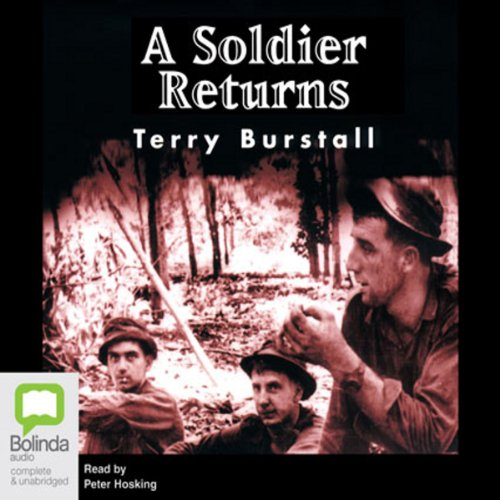 A Soldier Returns audiobook cover art
