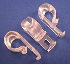 Roller or roman shade saftey Clear cord guides (Nine)