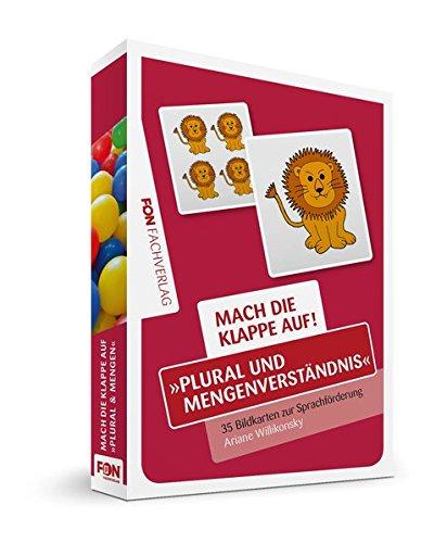 Mach die Klappe auf - Plural und Mengenverständnis: Bildkarten zur Sprachförderung