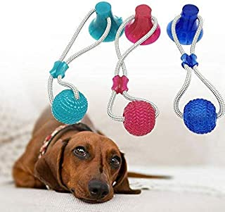 Best rubber ball on rope dog toy Reviews
