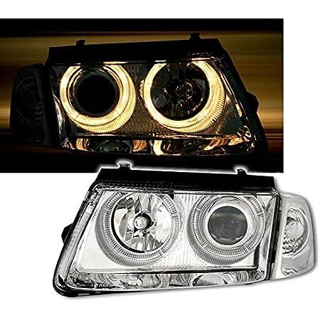 Ad Tuning Gmbh Co Kg 960574 Angel Eyes Fernscheinwerfer Set Klarglas Chrom Auto