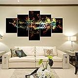 Manman Dekoration 5 Gemälde Bilder, Wandkunst