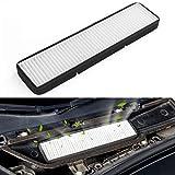 Farmogo Tesla Model 3 Air Intake Filter inlet vent accessories (white)...