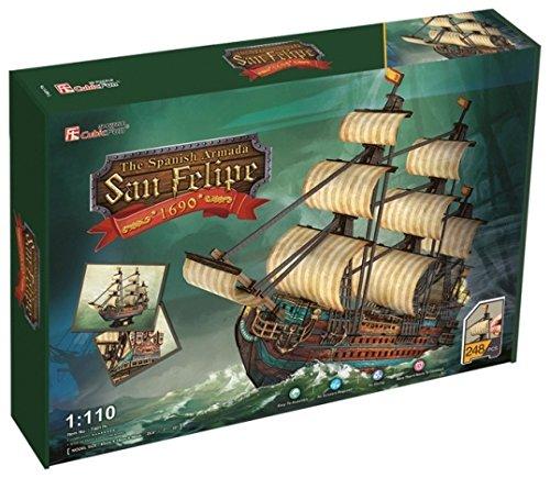 CubicFun 3d puzzle–Boat San Felipe (CPA Toy T4017)