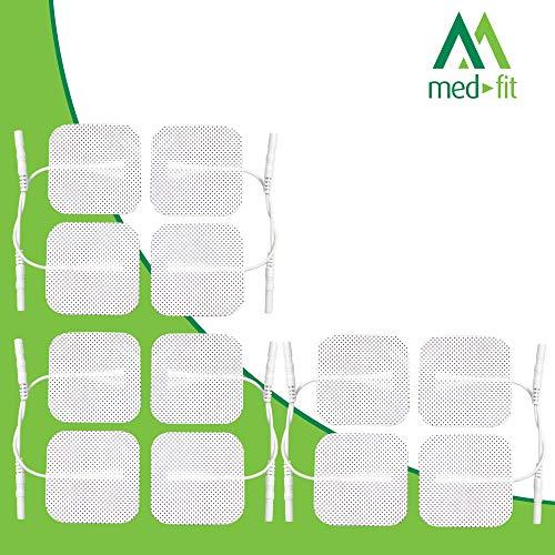 Med-Fit Almohadillas electrodos autoadhesivos TENS
