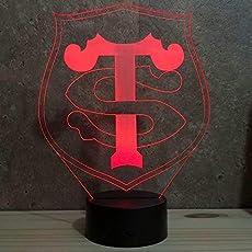 Lampe illusion Bouddha Lampe de table Fabriqu/ée en France Lampe dambiance Lampe veilleuse