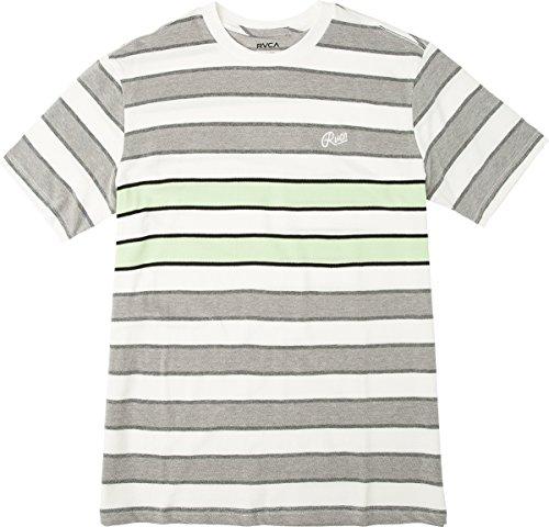 RVCA Herren JOOSE Short Sleeve Crew Neck Tee T-Shirt, Patina Green, Klein