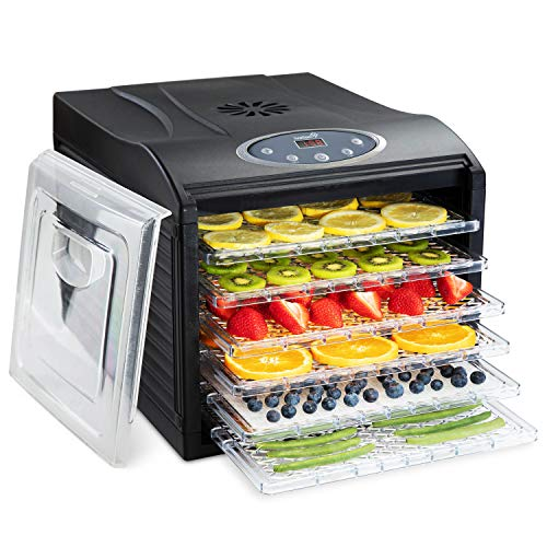 Ivation 6 Tray Digital Food Dehydrator Only $69.99