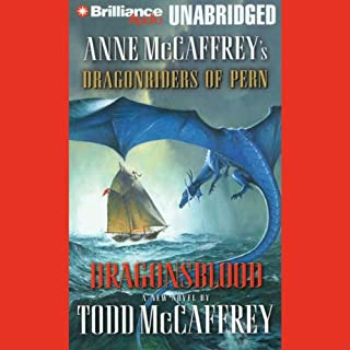 Dragonsblood audiobook cover art