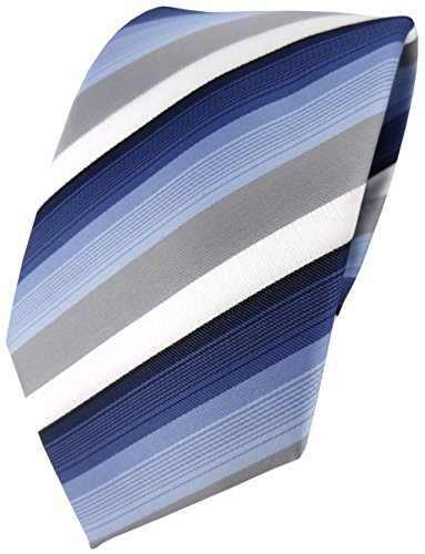 TigerTie Designer corbata rayas–de 8cm corbata en diferentes colores