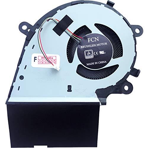Ventilador de CPU compatible con ASUS ROG Strix G G531GT-AL106T, G531GT-AL007T, G531GT-BQ002T, G531GT-AL041T