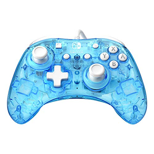Rock Candy Mini Ergonomic Wired Controller: Blu-Merang - Nintendo Switch