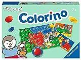 OTTO Colorino Le Jeu des Couleurs avec tchoupi : 4 Scenes, 31 pions Colores, 1 Grille - Jeu educatif Enfant - des 2 Ans