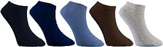 BIKE Pack of 5 SPORT LOW CUT HALF TOWEL SOCKS - 2724808140758