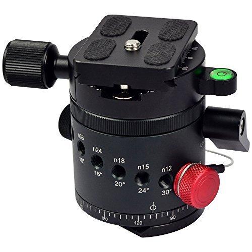 MENGS® DH-55 Indizierung Kamera Kugelkopf für 1/4