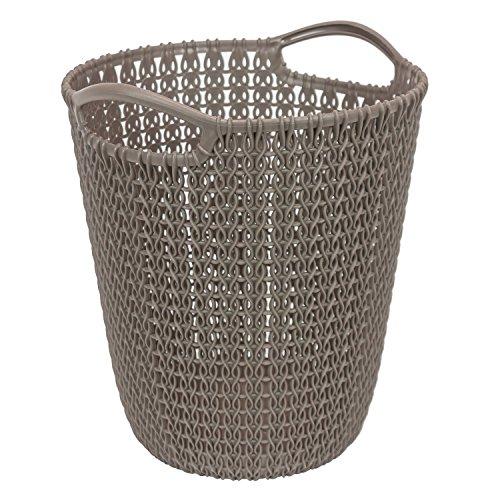 Curver Papelera Knit (7L), Topo, 21.9x21.1x25.2 cm