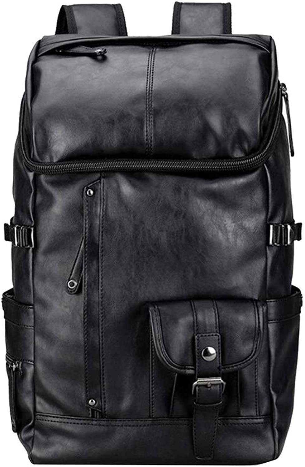 Cooralledtooere College Style Retro Japanese Simple Computer Backpack, Notebook Men's Business Backpack (26  19  45cm)