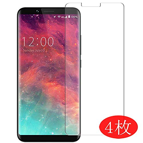 【4 Pack】 Synvy Screen Protector for Umidigi S2 / S2 Pro / S2 Lite 0.14mm TPU Flexible HD Clear Case-Friendly Film Protective Protectors [Not Tempered Glass] New Version