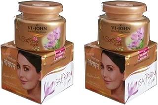 VI-John Women Skin Fairness Cream With Saffron & Gold - 50g Pack of 2