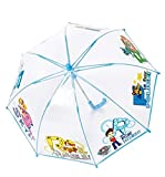Paraguas automatico burbuja transparente Patrulla Canina apertura seguridad 42cm