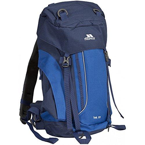 Trespass - Mochila de acampada/Hiking Modelo Trek 33 (33 litros) - Acampada/Camping...